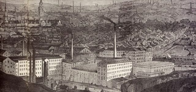 Bradford Was Known As What During The Industrial Revolution?