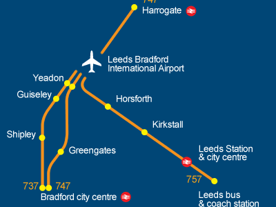 How To Get To Leeds Bradford Airport From York