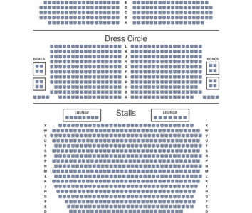 What Is The Seating Capacity Of The Alhambra Theatre Bradford